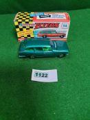 Lone Star Flyersl #14 Ford (GB) Zodiac Mark III Estate In Metallic Green Rarer Mint Model With A