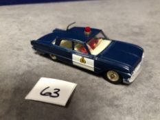 Dinky #264 Ford Fairlane Patrol Car Unboxed Superb Mint model deserving of a box