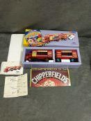 Corgi Classic Chipperfield Circus 97889 AEC Cage Truck & Trailer in box