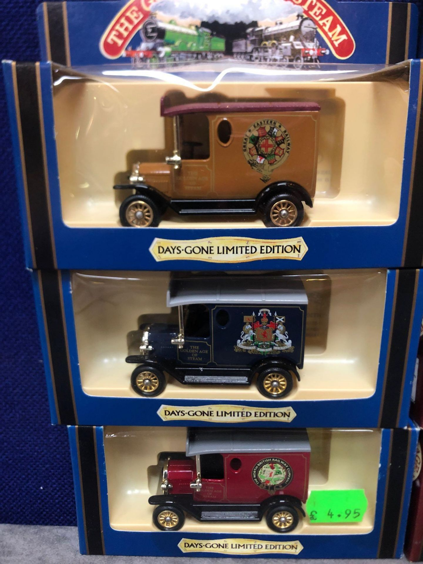 10x Diecast The Days Gone Limited Edition The Golden Age Of Steam Vehicles In Boxes - Image 2 of 4