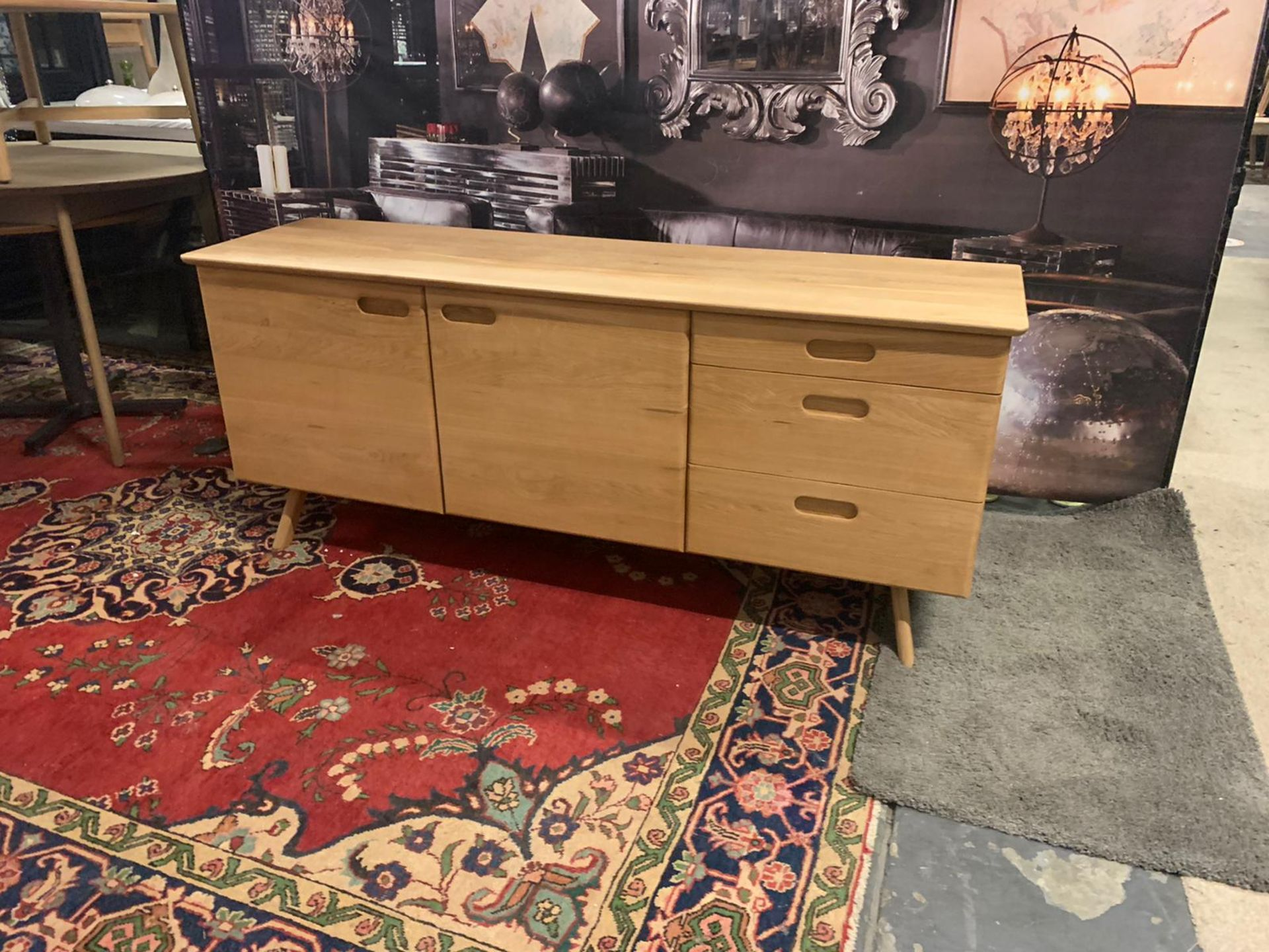 Laura Ashley Walnut Hazlemere Sideboard Taking inspiration from the iconic furniture designs of - Image 2 of 4