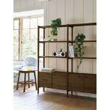 Laura Ashley Hazlemere Walnut 2 Door Single Bookcase Taking inspiration from the iconic furniture