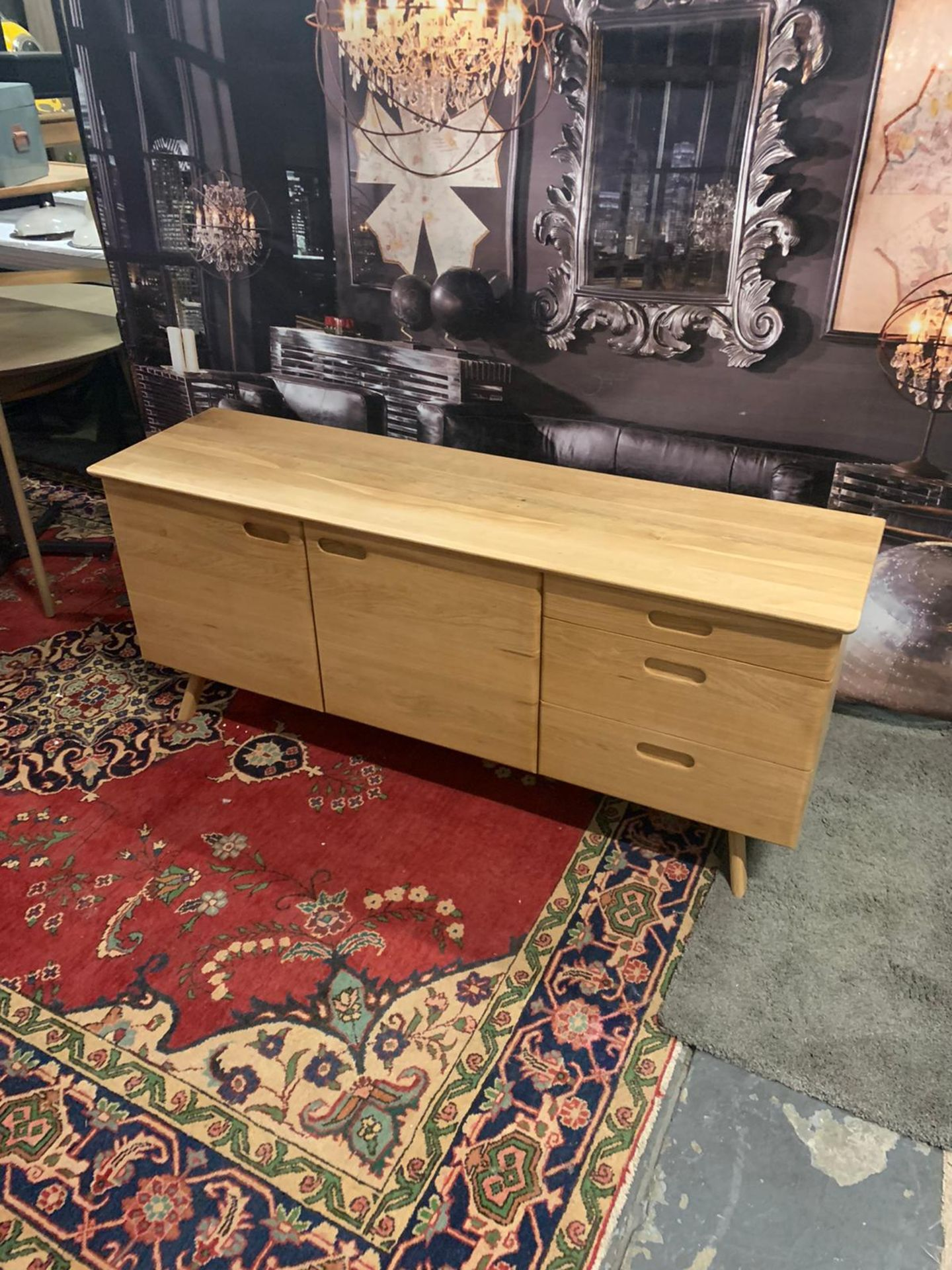 Laura Ashley Walnut Hazlemere Sideboard Taking inspiration from the iconic furniture designs of - Image 4 of 4