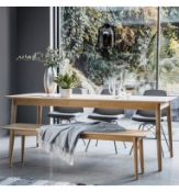 Milano Ext Dining Table The Stunning Milano Extending Dining Table Features A Beautiful Inlay