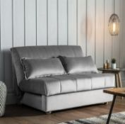 Metz Sofa 140cm Monza Steel Upholstered The Metz collection is ideal even for smaller spaces,