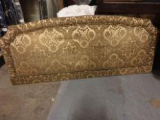 Luxury headboard gold padded pattern 182 x 80cm ( LOC HB6)