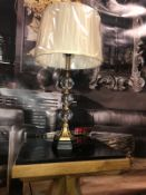 Crystal Ball Table Lamp add elegance and beauty to your room. It is a great addition to any