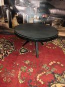 Coffee Table - Cosmopolitan Coffee Table Black Polished Glazed Top With Oak The Geometric Symmetry