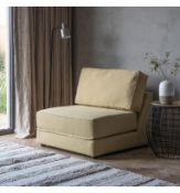 Eastwood Sofa Bed Armless 90cm The Castello Ochre Unique In Design Our Eastwood Sofabed Is Fully