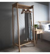 Wycombe Open Wardrobe W825 x D440 x H1740mm The Wycombe range made from a combination of the
