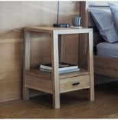 Kielder Bedside / Side Table Honest and solid, the Kielder range is crafted from beautiful mellow