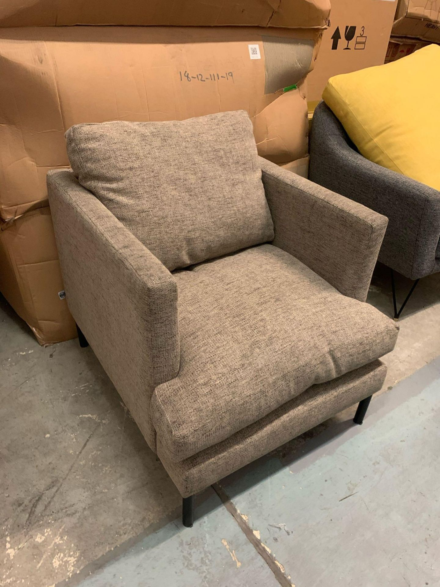 Dulwich Upholstered Arm Chair - Image 3 of 4