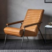 Lucera Armchair is an eye-catching piece that will add a style statement to your living space. The