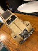 Citroen Scale tin plate car model
