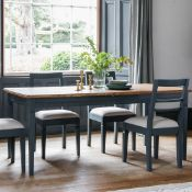 Bronte Extending Dining Table Storm The Bronte Extending Dining Table in Storm offers a classic look