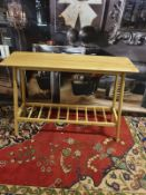 Laura Ashley Hazlemere Console Table Oak Taking inspiration from the iconic furniture designs of the