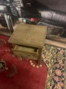 A Pair of Soho Solid Wood Side Table 2 Drawer This Table will complement your decorative scheme