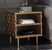 Kerala Side Table The Kerala side table is a stylish yet functional piece of furniture - the open