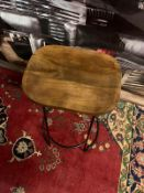Oslo Stool Natural and Black The Oslo Stool is a simple yet timeless design that is utterly
