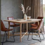 Kingham Extending Dining Table Solid Oak Dining Table Blending elegant design with a timeless
