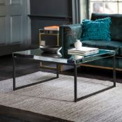 Pippard Coffee Table Black The Coffee Table in Black features beautiful bevelled mirror all set