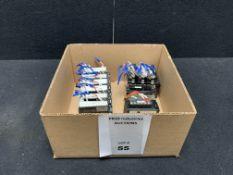 OMRON CJ1W-PA202 POWER SUPPLY 14W 100-240 VAC 50/60 HZ | CJ1W-PTS51 THERMOCOUPLE INPUT | CJ1W-