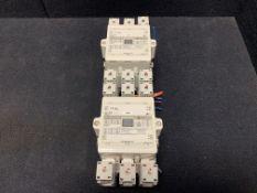 FUJI ELECTRIC CONTACTOR SC-E7-200V, 200-250VAC 50/60HZ 200-240VDC