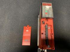 SEW EURODRIVE MOVITRAC B MC07B0004-5A3-4-00, 0.37 KW (0.50 HP) 380-500 VAC SUPPLY 50/60 HZ