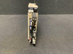 YASKAWA SIGMA-5 MECHATROLINK II SERVO AMPLIFIER SGDV-R90A11A, 200/230 VAC INPUT 50/60 HZ 0.5 AMP 100