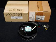 NEW IN BOX - HOFFMAN FANS A6AXFN2 & SF-0924-414, NEW OUT OF BOX FANUC A05B-2452-C902
