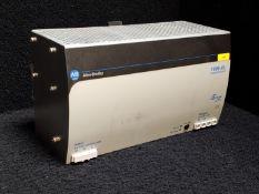 ALLEN BRADLEY 1606-XL480EP 3 POWER SUPPLY POWER SUPPLY INPUT: 100-120/200-240 VAC 10/5 AMP 50/60 HZ,