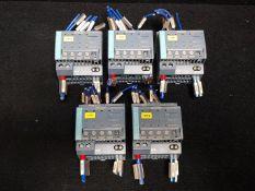 SIEMENS 6EP1 961-2BA21 ELECTRONIC SELECTIVITY MODULE 10A, 4-CH, INPUT:40A/24VDC, OUTPUT: 4Xx10A/24VD