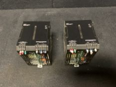 OMRON S8VK-G48024 SINGLE PHASE POWER SUPPLY 480W, 24 VDC, 20 AMP, 100-240 VAC