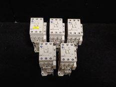 ALLEN BRADLEY 100-C30D*00C CONTACTOR 30A 3-POLE 110/120 VAC 50/60 HZ