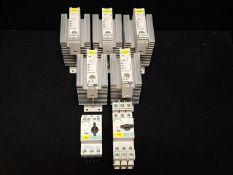 SIEMENS RELAY MODULE 3RF2920-0FA08/CIRCUIT BREAKER 3RV1721-1DD10/CIRCUIT BREAKER 3RV1721-1AD10