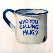 ANTONY HAYLOCK- 'TIN MUG' (DEFENCE OF THE INANIMATE)- 2019