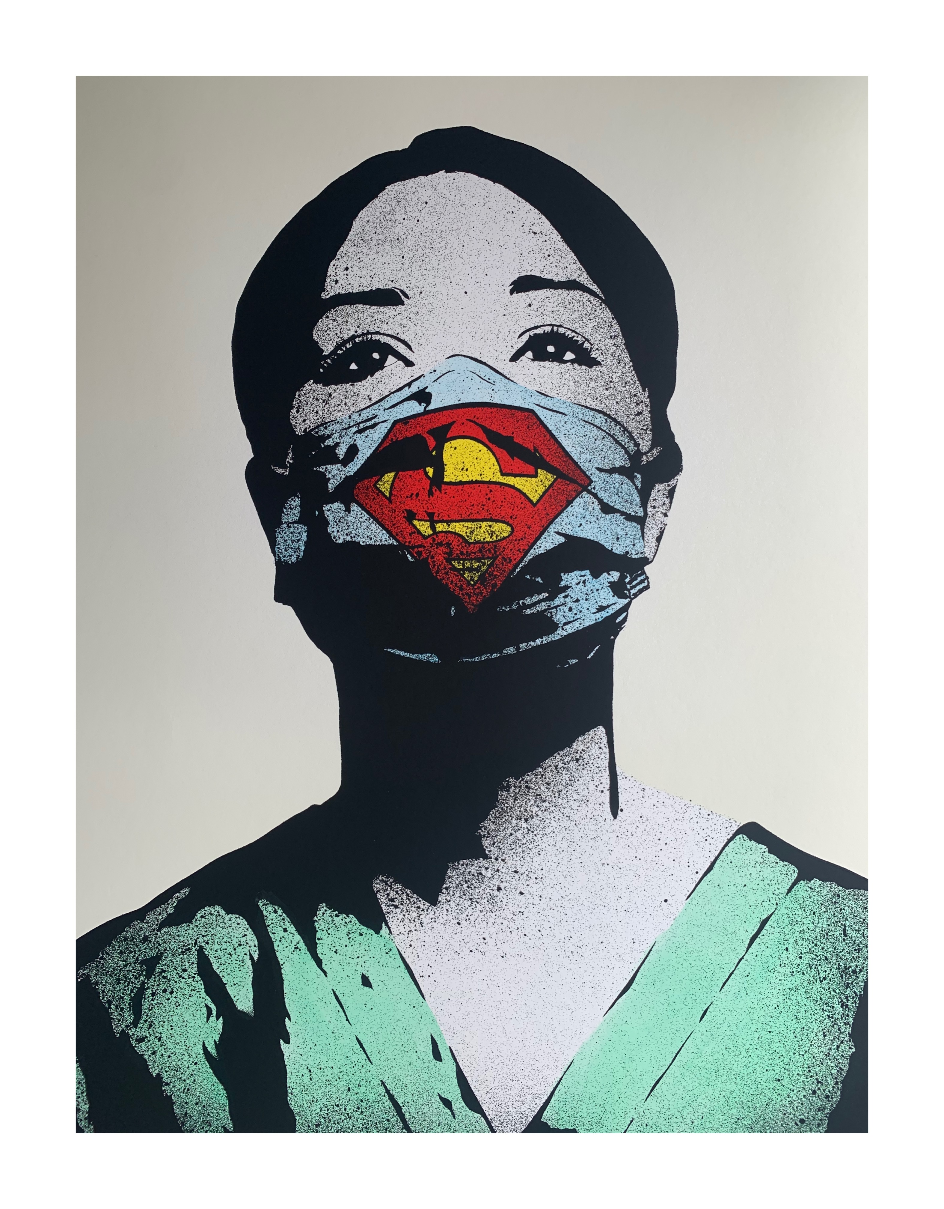FAKE 'SUPER NURSE' (NUMBER ERROR, THEREFORE UNIQUE, FULL PROVENANCE FROM ARTIST ) - Image 2 of 9