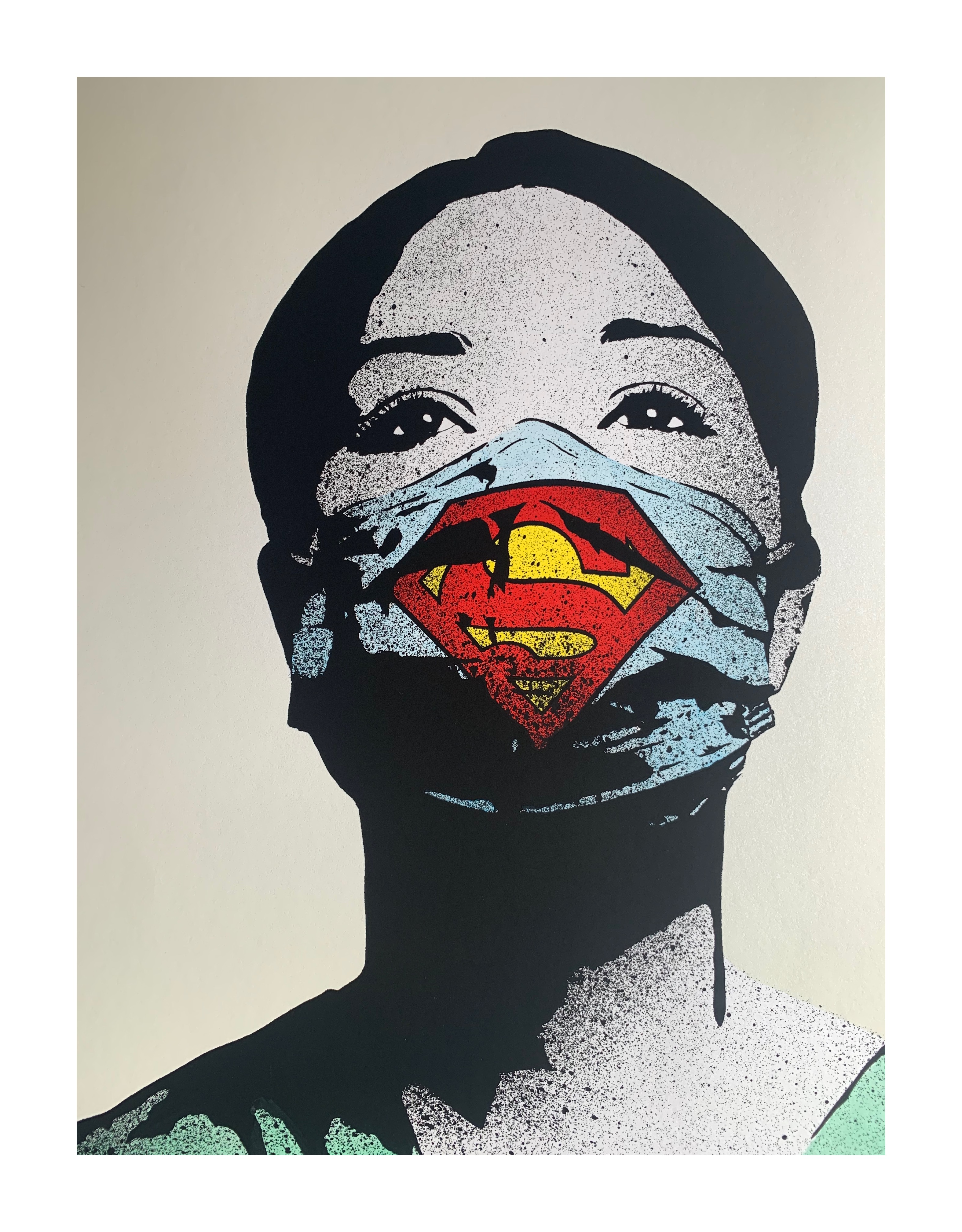 FAKE 'SUPER NURSE' (NUMBER ERROR, THEREFORE UNIQUE, FULL PROVENANCE FROM ARTIST ) - Image 5 of 9