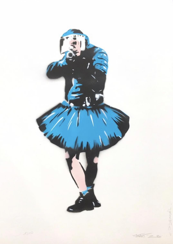 CANNED- CHARLOTTE PARENTEAU-DENOEL 'DANCING COP' - 2020 - Image 2 of 3