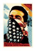 SHEPARD FAIREY 'AMERICAN RAGE' - 2020