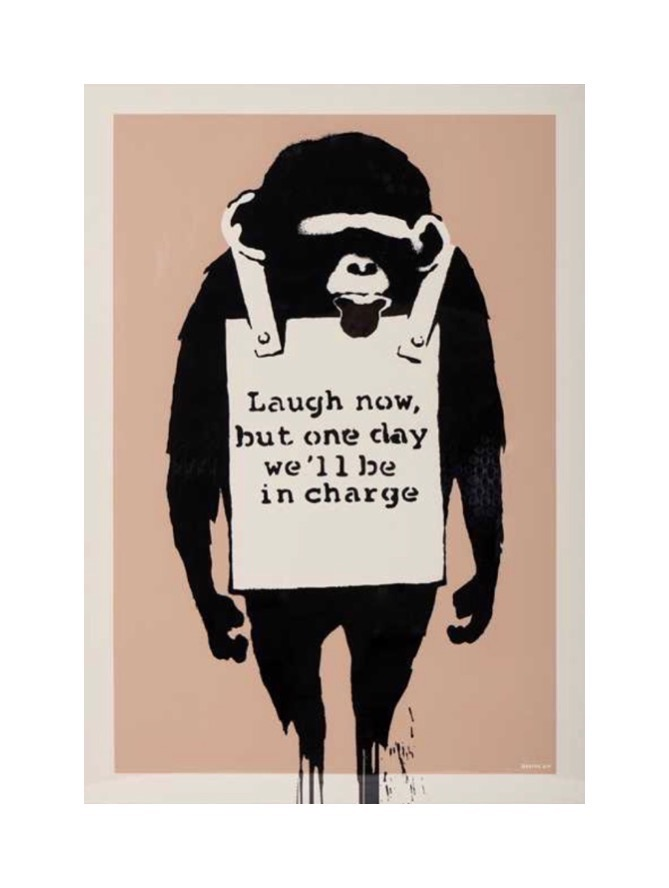 BANKSY (WCP)- 'LAUGH NOW'- WEST COUNTRY PRINCE