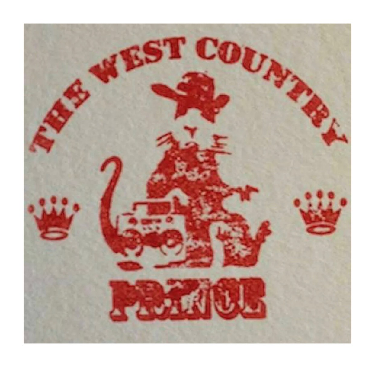 BANKSY (WCP)- 'LAUGH NOW'- WEST COUNTRY PRINCE - Image 2 of 2