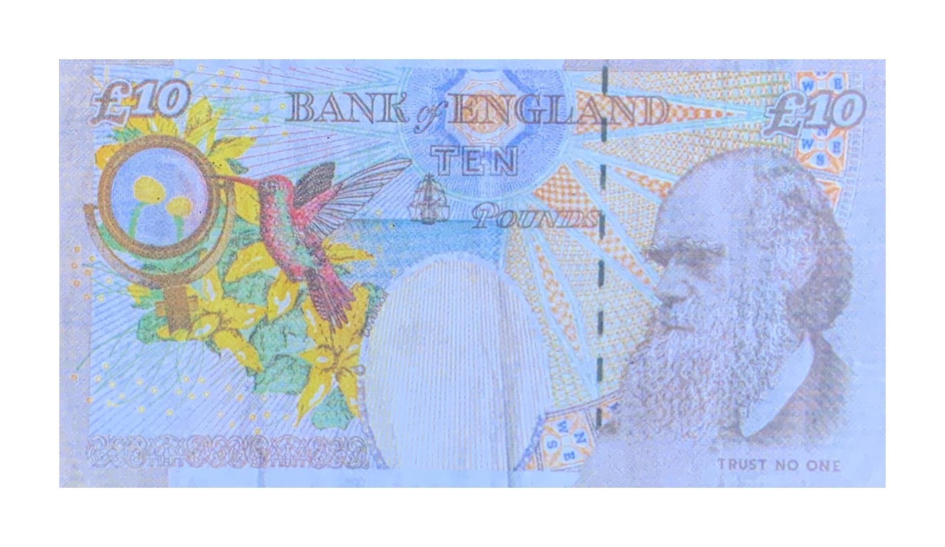 BANKSY- 'DI-FACED TENNER'- 2004 - Image 2 of 2