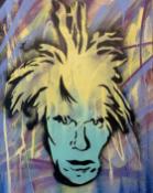 MAD ONE ' CRAZY HAIR WARHOL' - 2020