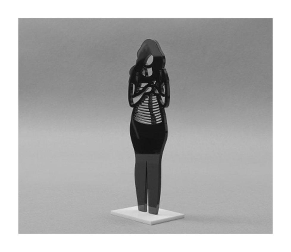 JULIAN OPIE 'BACK PACK ACRYLIC ART SCULPTURE' - 2020 - Image 2 of 2