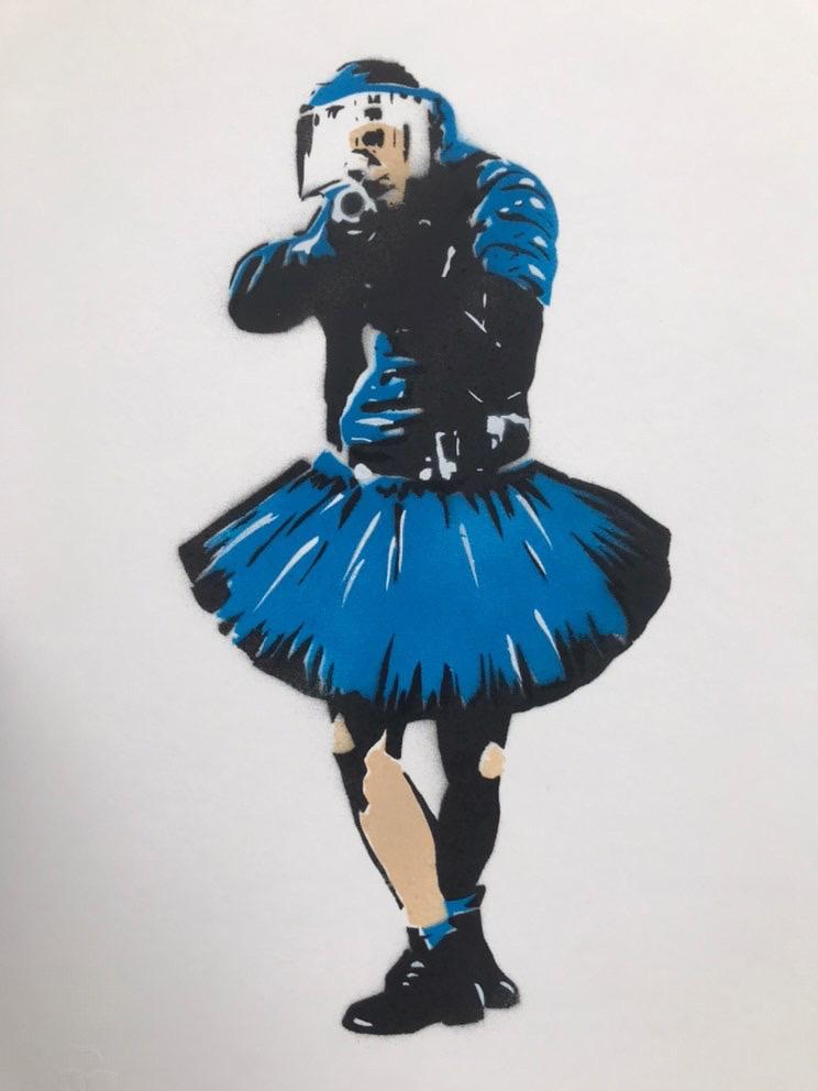 CANNED- CHARLOTTE PARENTEAU-DENOEL 'DANCING COP' - 2020
