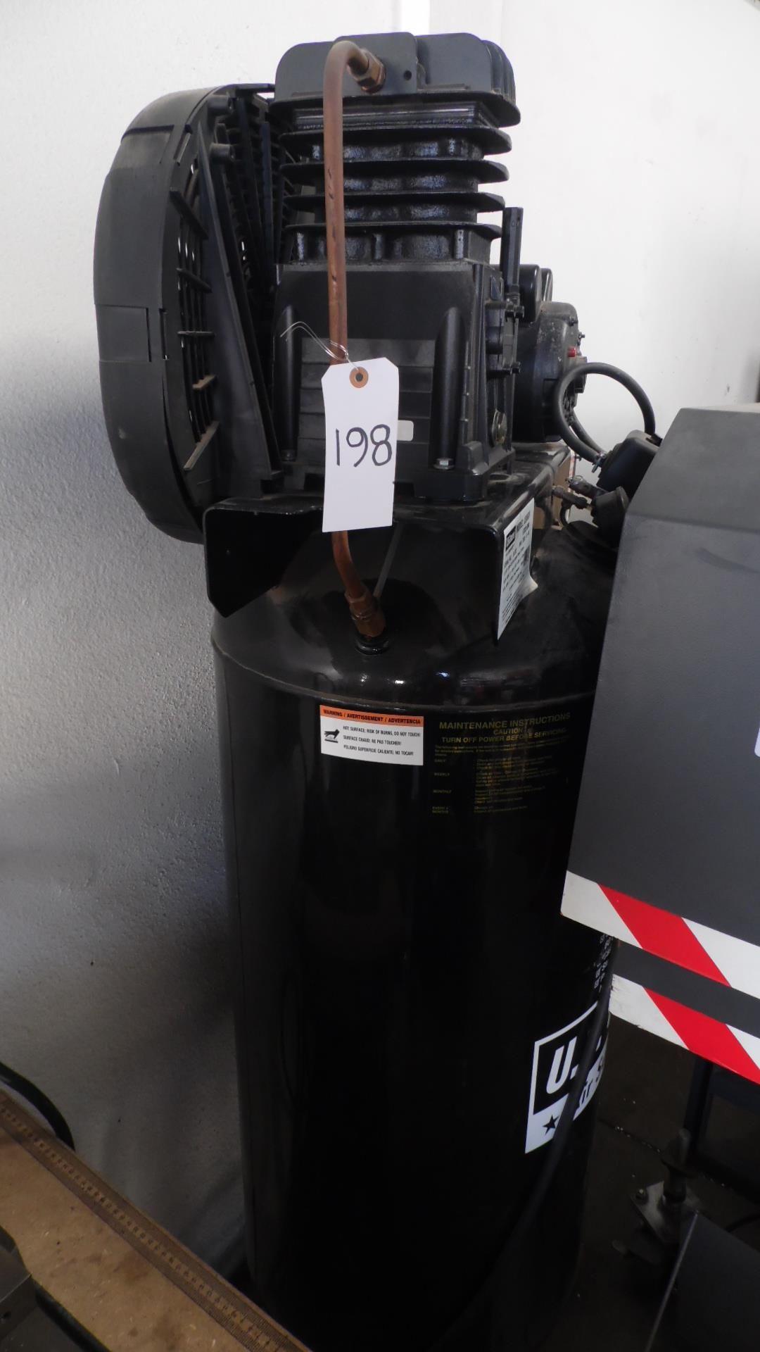 Lot 198 - U.S. GENERAL 3.5 HP AIR COMPRESSOR