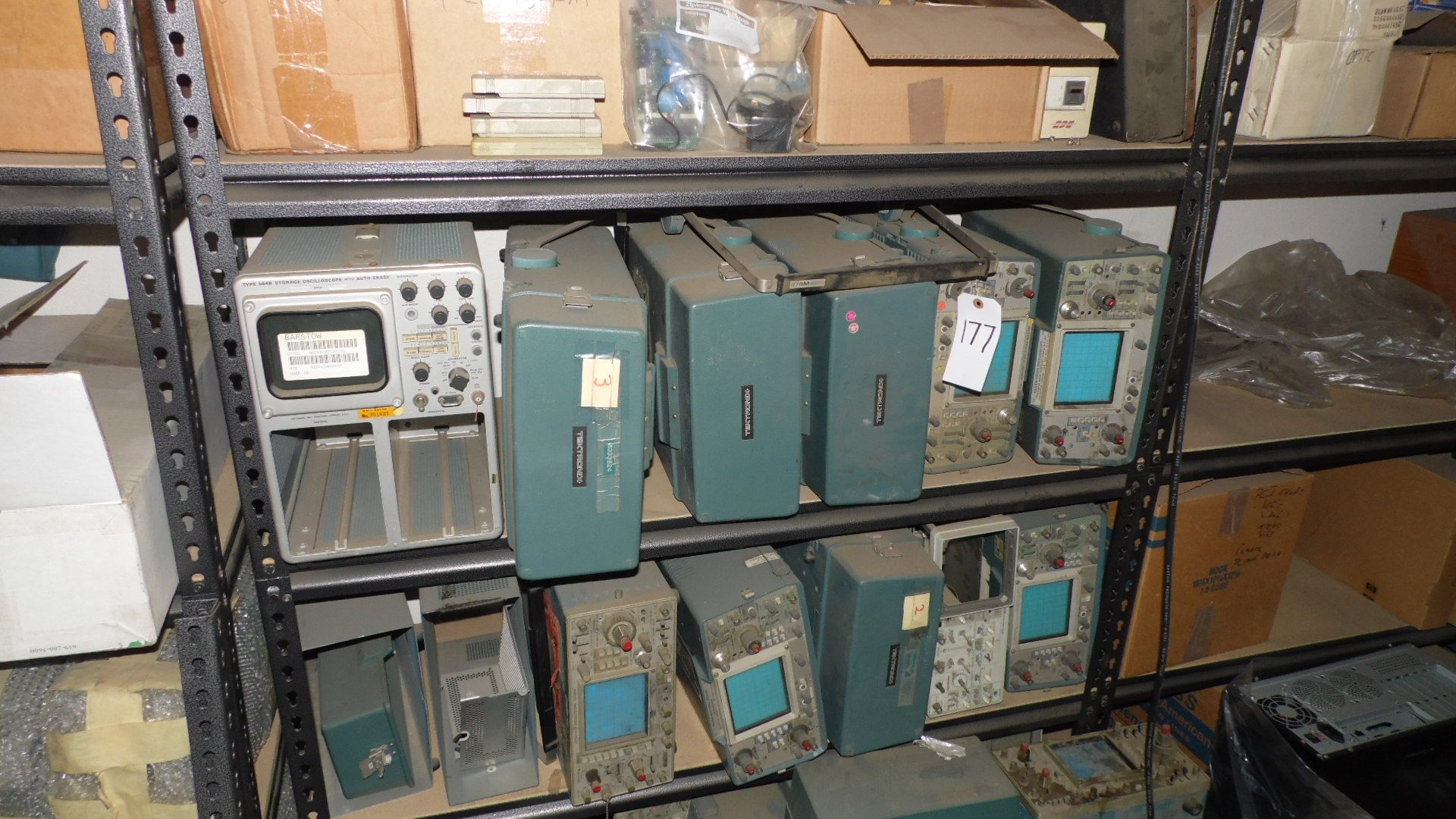 Lot 177 - ASSORTED TEKRONIX OSCILLOSCOPES (AS-IS)