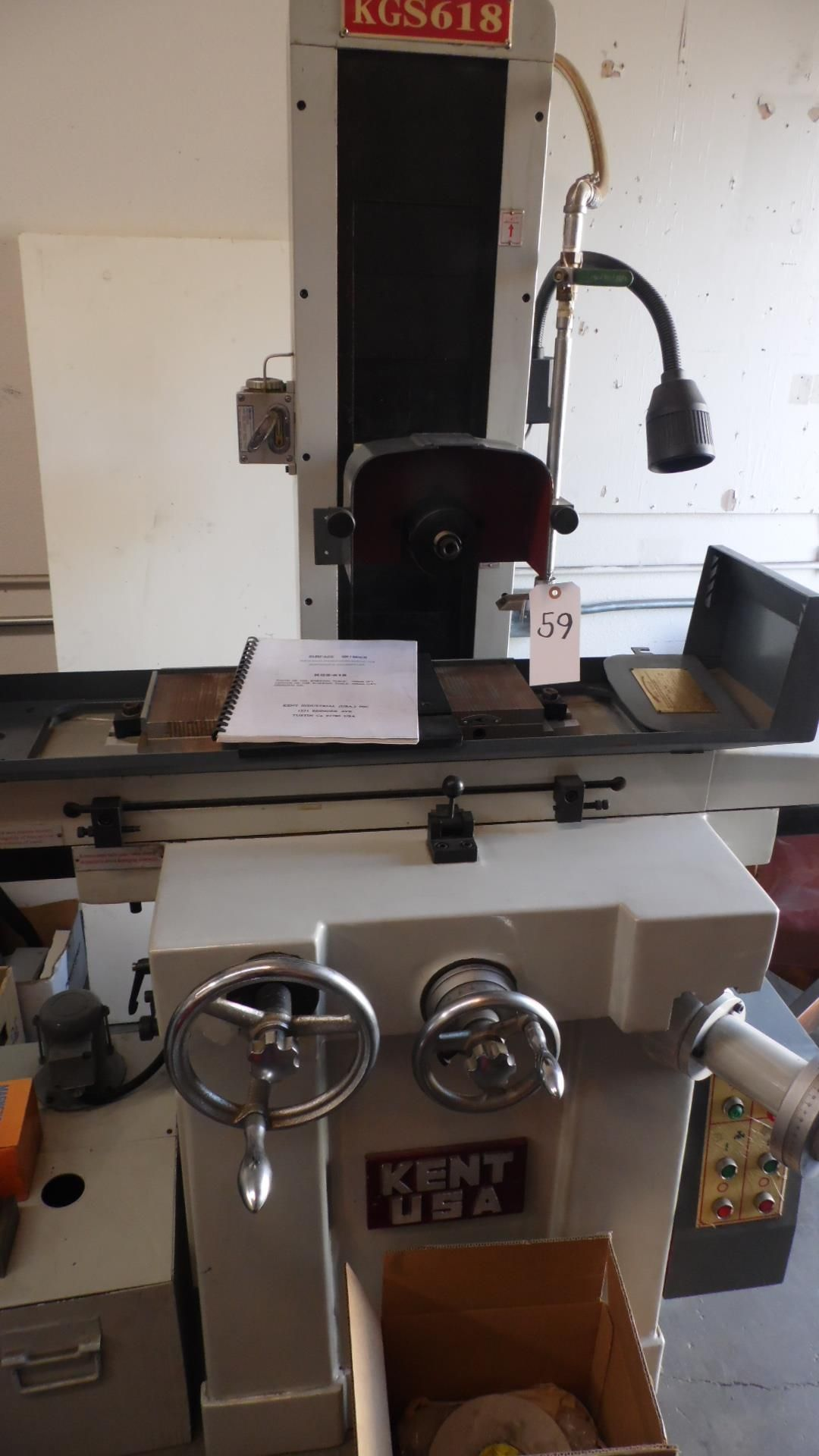 Lot 59 - KENT HYDRAULIC SURFACE GRINDER