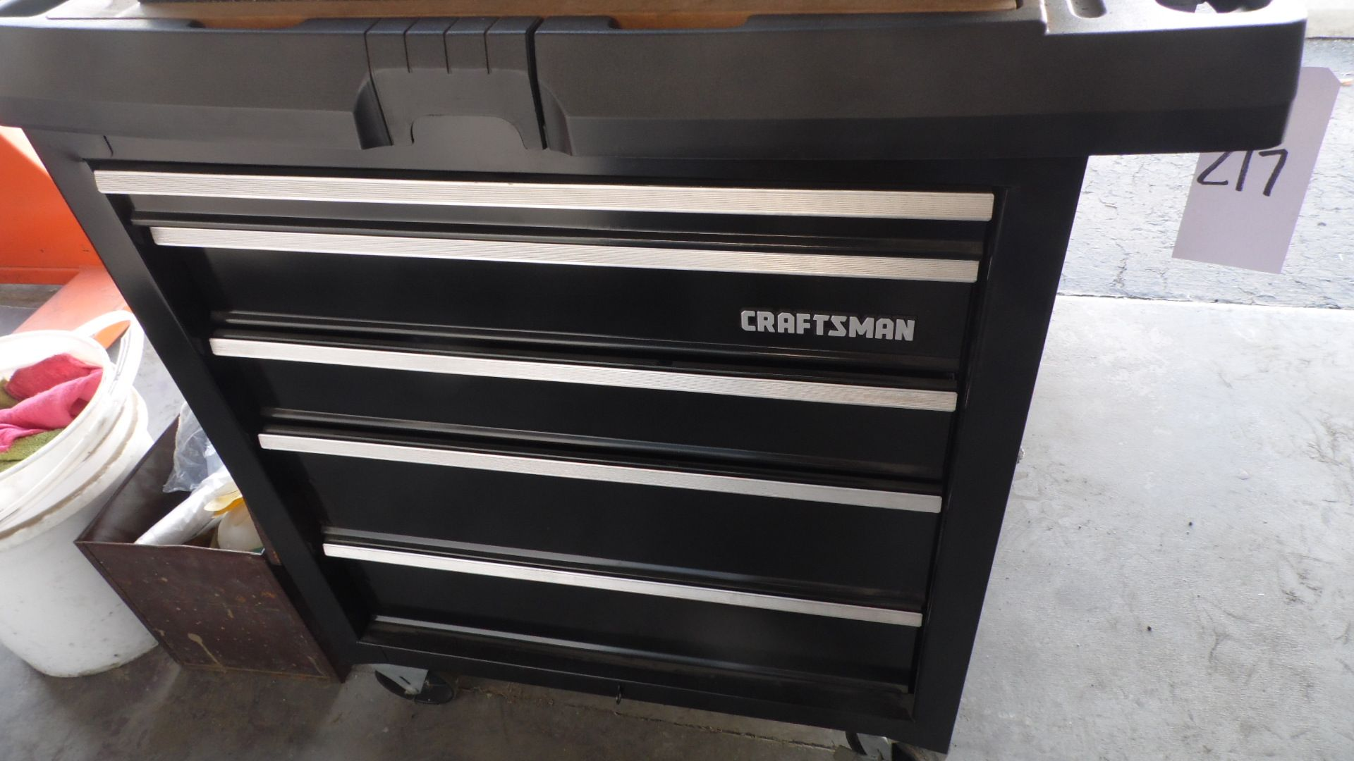 Lot 217 - CRAFTSMAN TOOL BOX